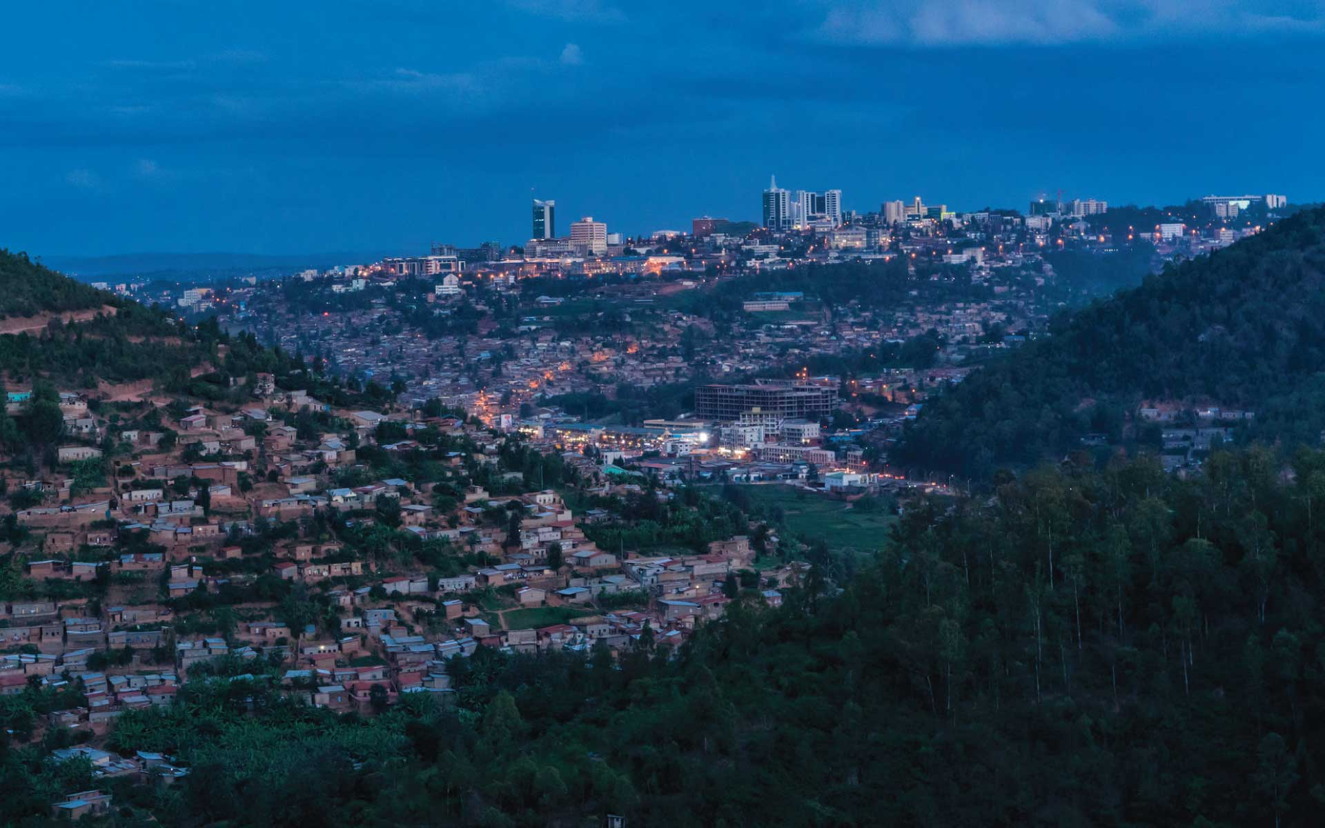 Kigali City Skyline - Things to do in Kigali