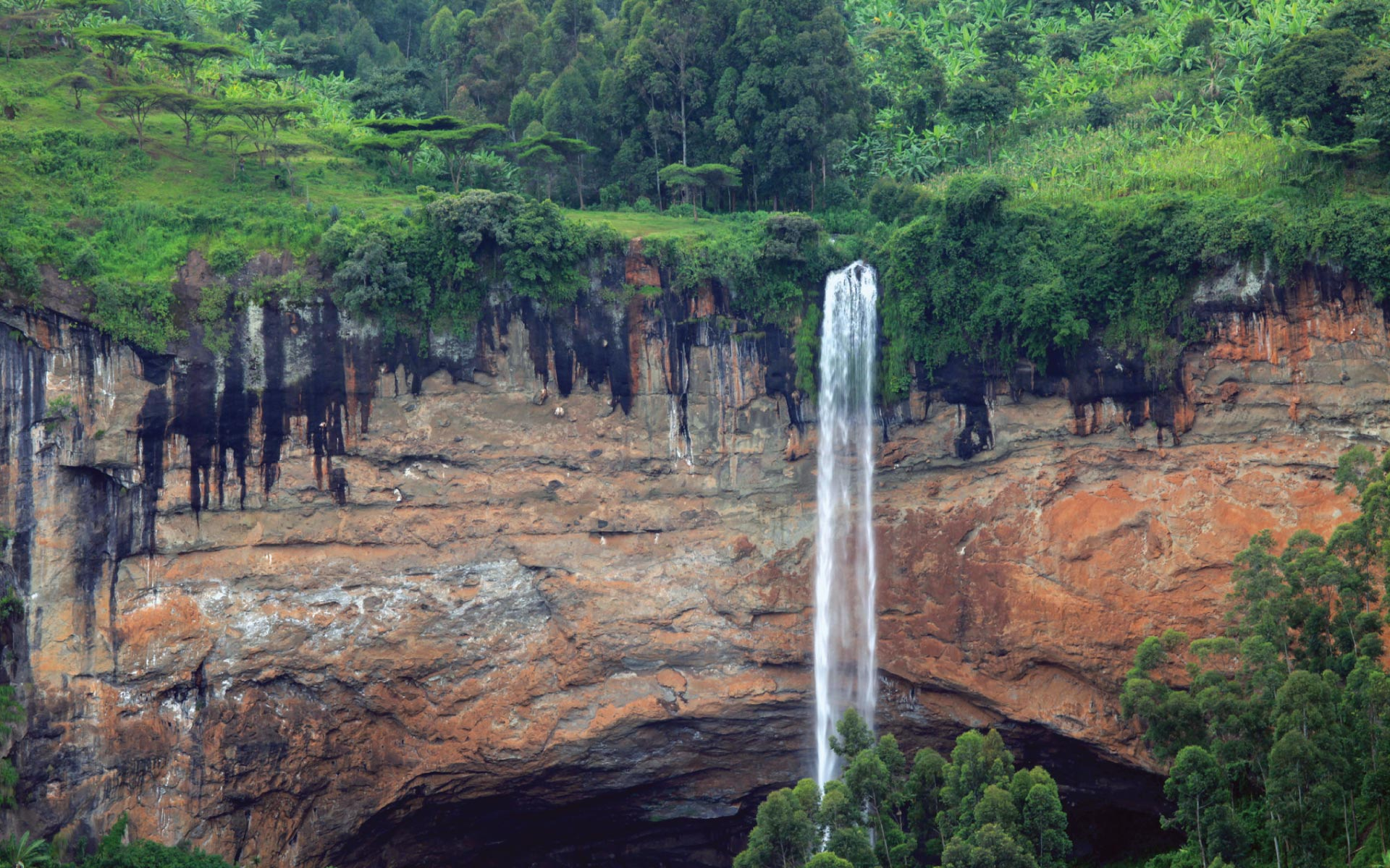 Sipi Falls - Mount Elgon National Park